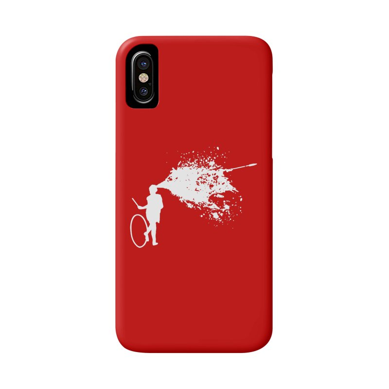 Old School Kill - White Accessories Phone Case by Inappropriate Wares