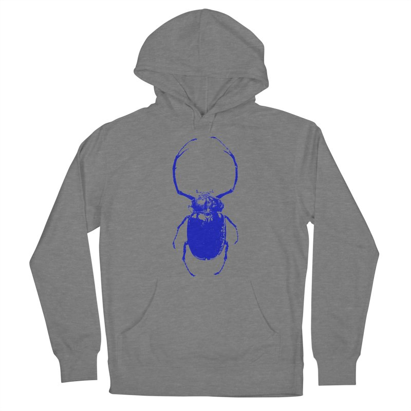 Blue Beetle Women's Pullover Hoody by Inappropriate Wares