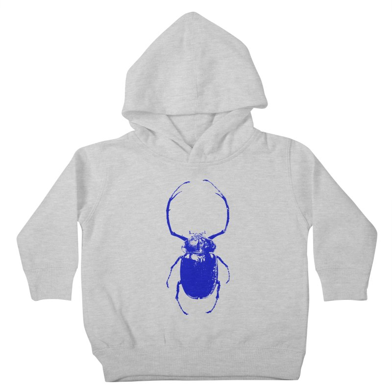 Blue Beetle Kids Toddler Pullover Hoody by Inappropriate Wares