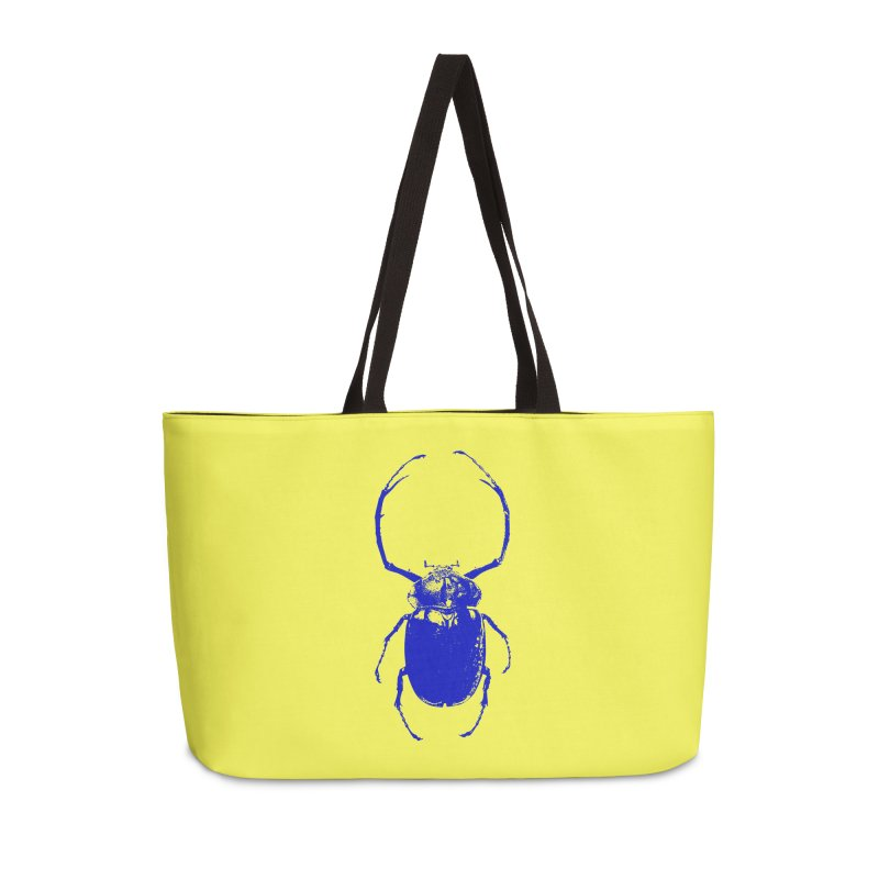 Blue Beetle Accessories Bag by Inappropriate Wares