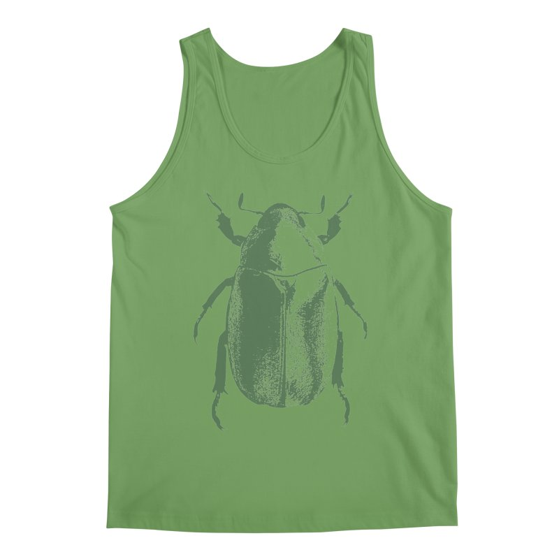 Green Beetle Men's Tank by Inappropriate Wares