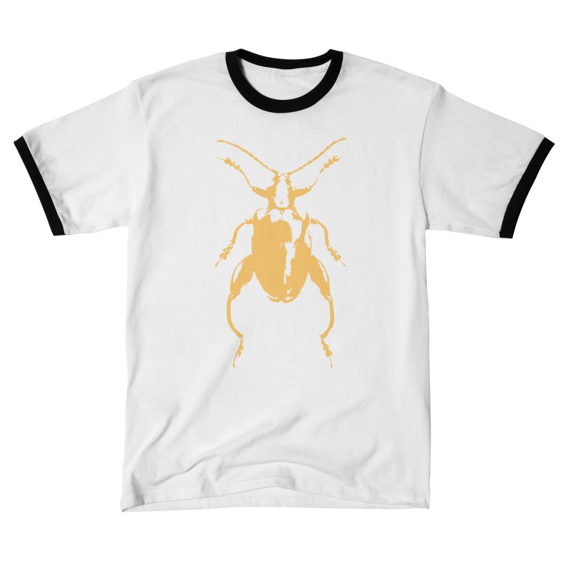 Peach Beetle Women's T-Shirt by Inappropriate Wares
