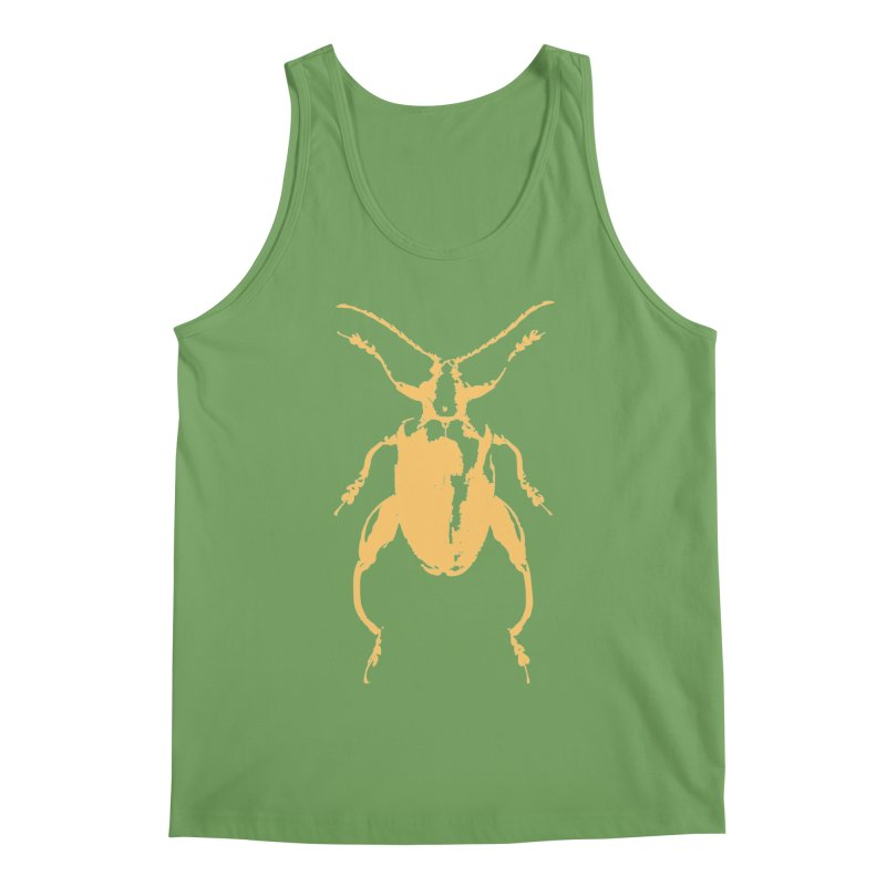 Peach Beetle Men's Tank by Inappropriate Wares