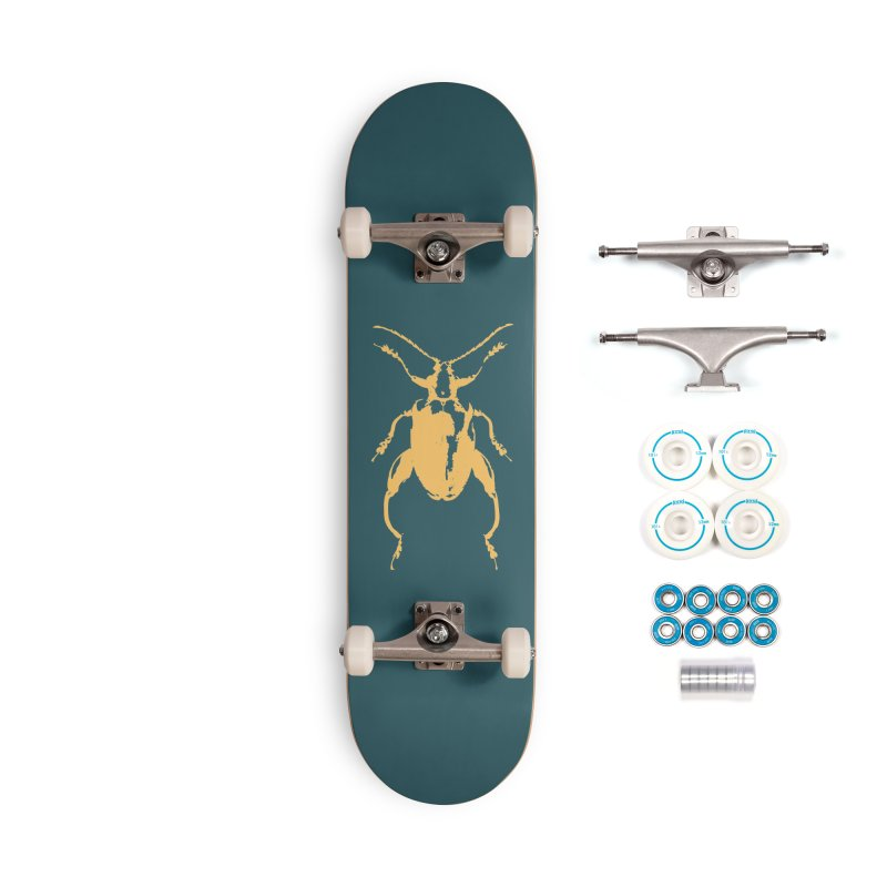Peach Beetle Accessories Skateboard by Inappropriate Wares