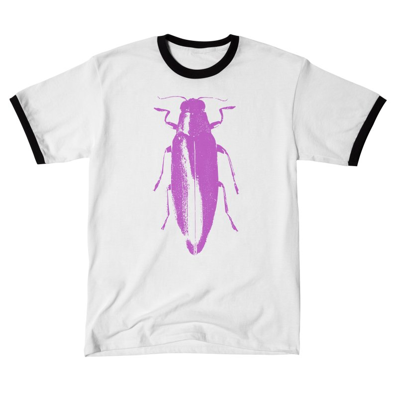 Pink Beetle Women's T-Shirt by Inappropriate Wares