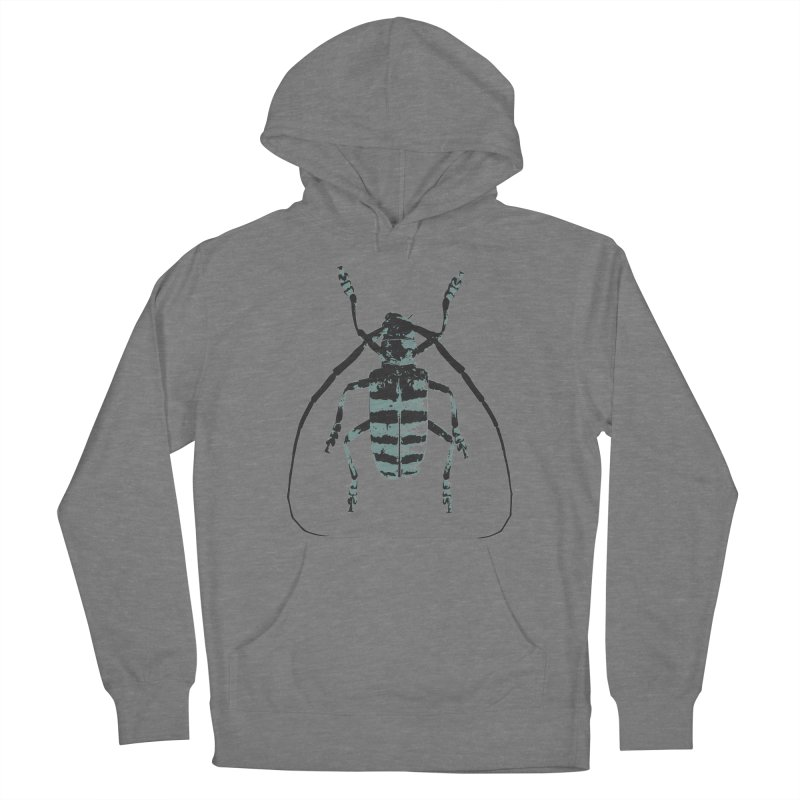 Shades of Blue Beetle Women's Pullover Hoody by Inappropriate Wares