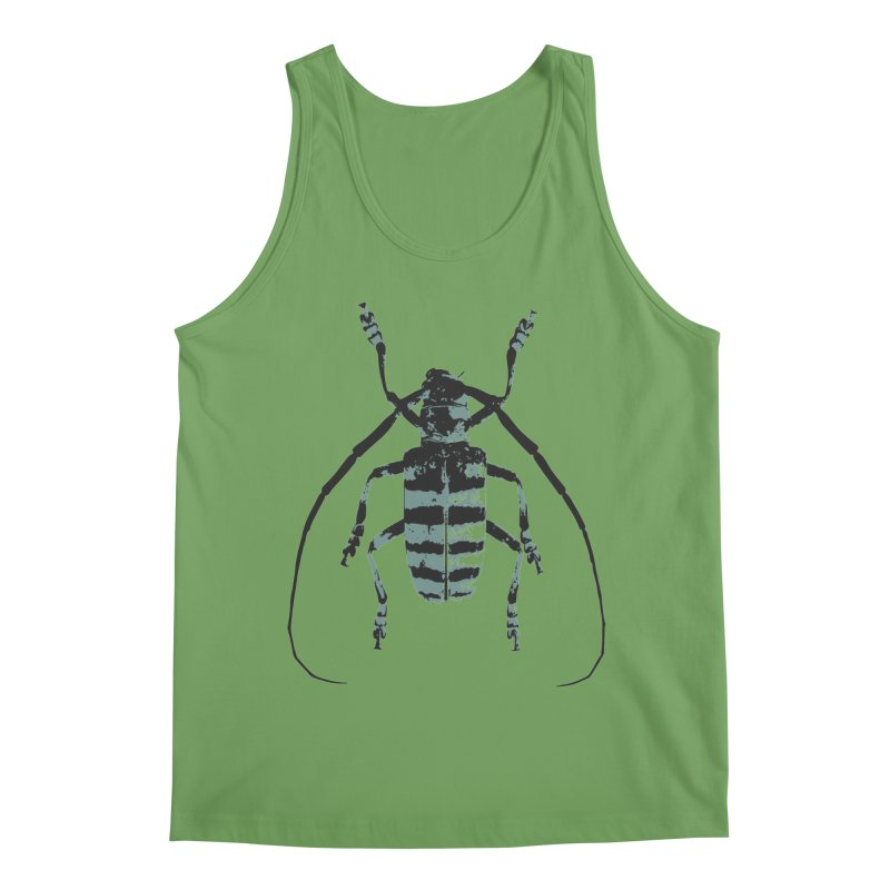 Shades of Blue Beetle Men's Tank by Inappropriate Wares