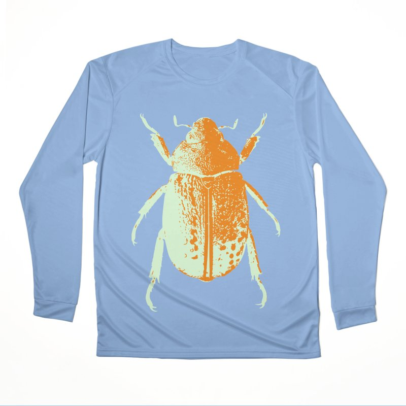 Sherbert Beetle Women's Longsleeve T-Shirt by Inappropriate Wares