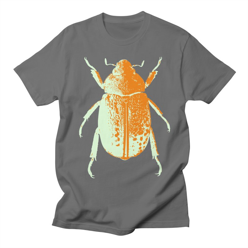 Sherbert Beetle Men's T-Shirt by Inappropriate Wares