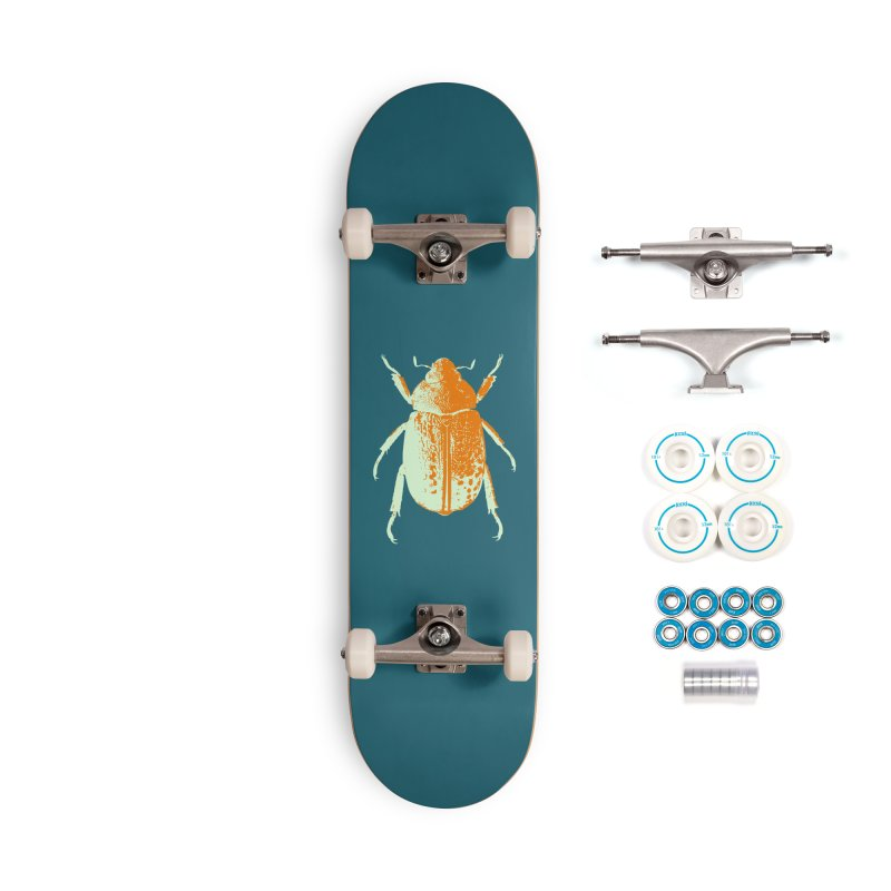 Sherbert Beetle Accessories Skateboard by Inappropriate Wares