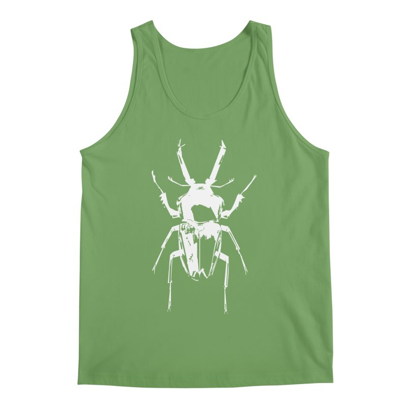 White Beetle Men's Tank by Inappropriate Wares