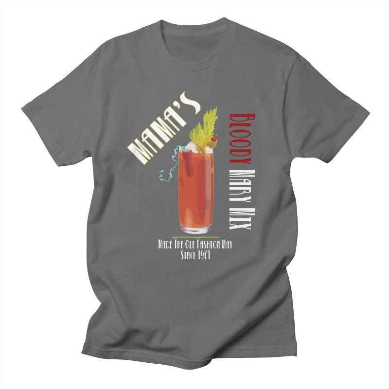 Mama's Bloody Mary Mix Men's T-Shirt by Inappropriate Wares