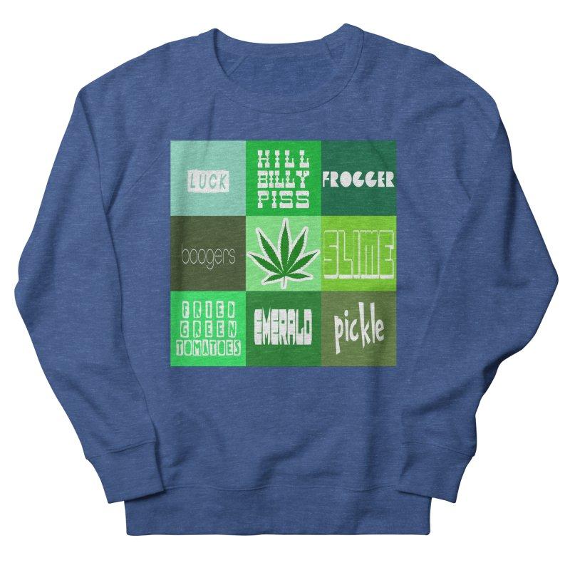 GREEN Men's Sweatshirt by Inappropriate Wares
