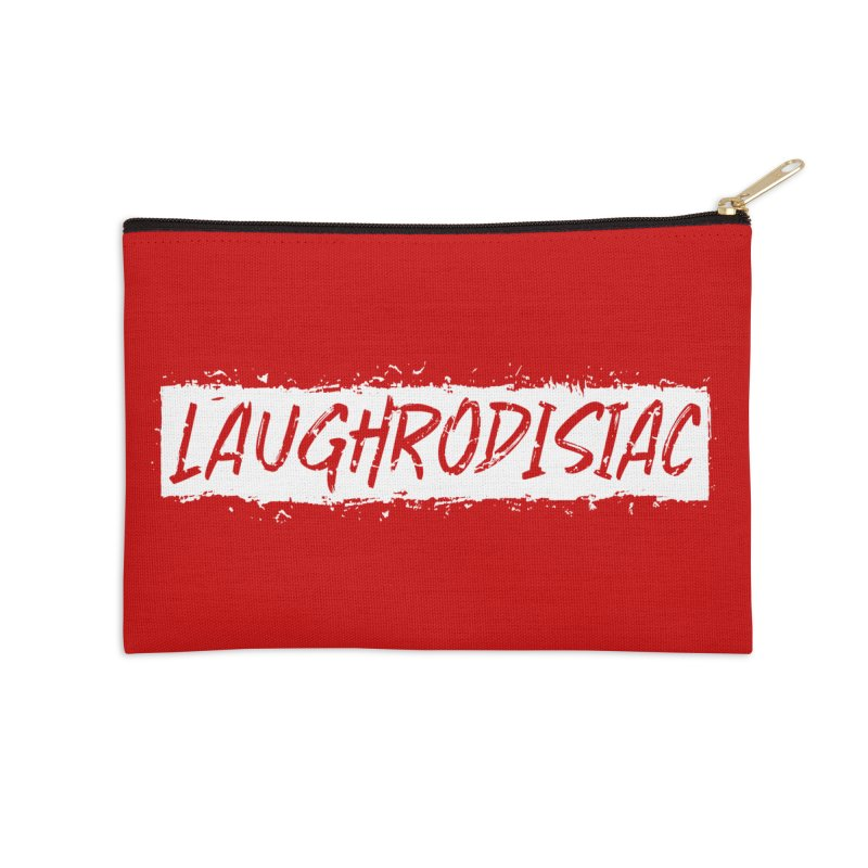 Laughrodisiac Accessories Zip Pouch by Inappropriate Wares