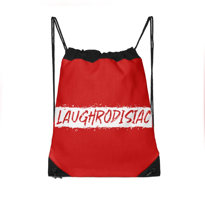 Laughrodisiac Accessories Drawstring Bag Bag by Inappropriate Wares