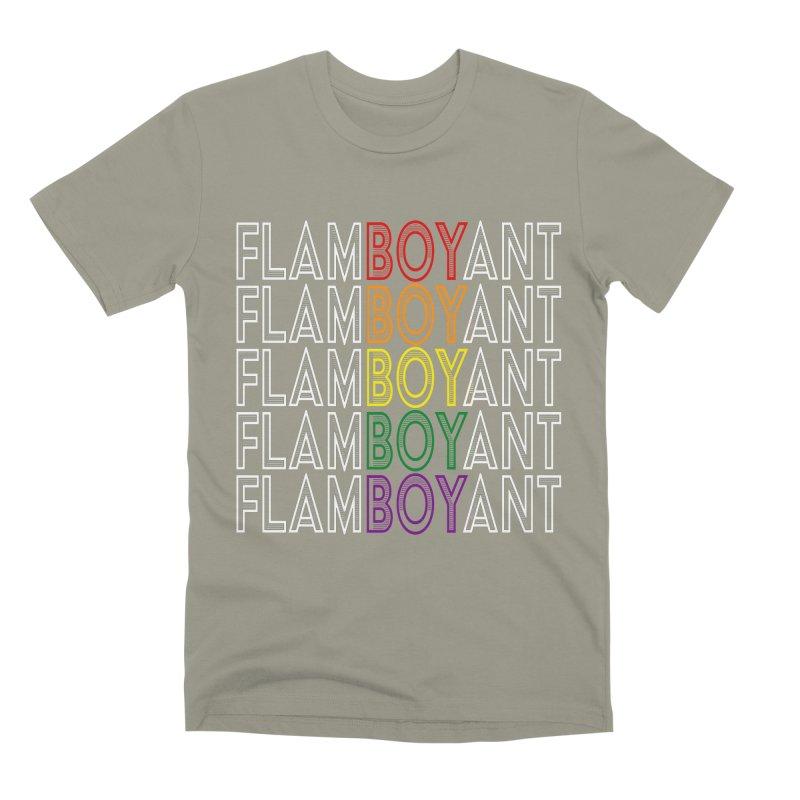 Flamboyant Men's Premium T-Shirt by Inappropriate Wares