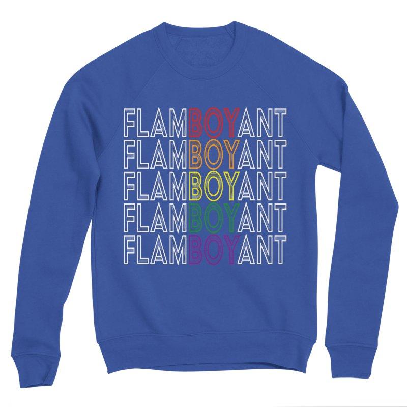 Flamboyant Men's Sponge Fleece Sweatshirt by Inappropriate Wares