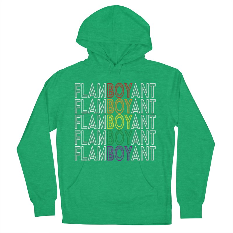 Flamboyant Women's French Terry Pullover Hoody by Inappropriate Wares