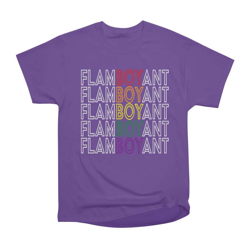 Flamboyant Women's Heavyweight Unisex T-Shirt by Inappropriate Wares
