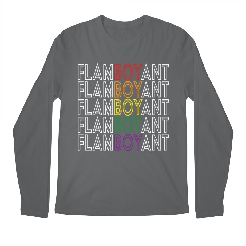 Flamboyant Men's Longsleeve T-Shirt by Inappropriate Wares