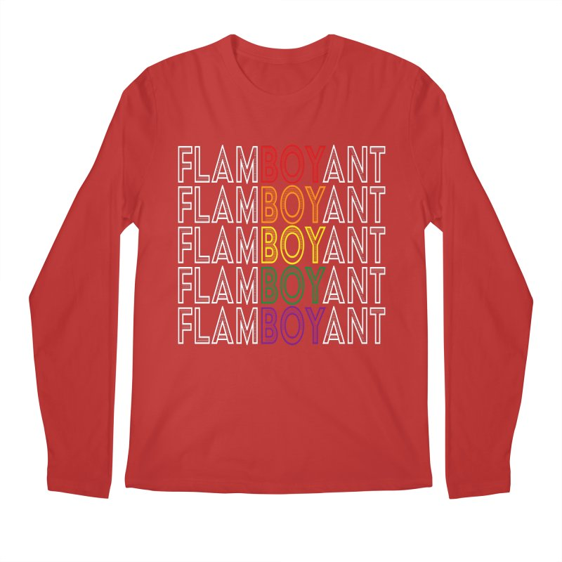Flamboyant Men's Regular Longsleeve T-Shirt by Inappropriate Wares