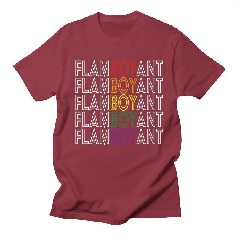 Flamboyant Men's Regular T-Shirt by Inappropriate Wares