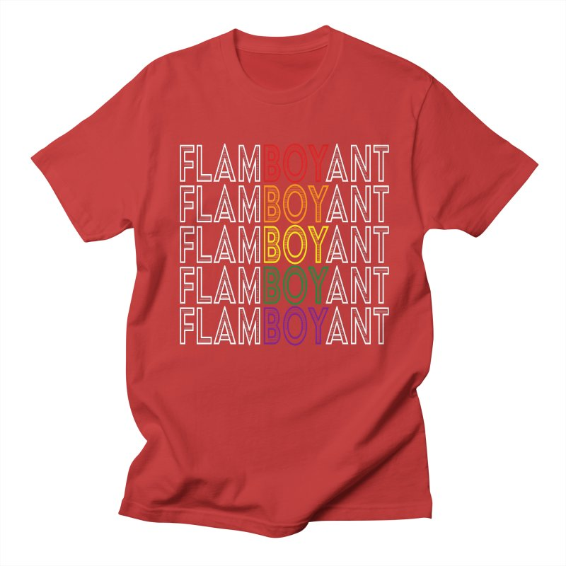 Flamboyant Women's Regular Unisex T-Shirt by Inappropriate Wares