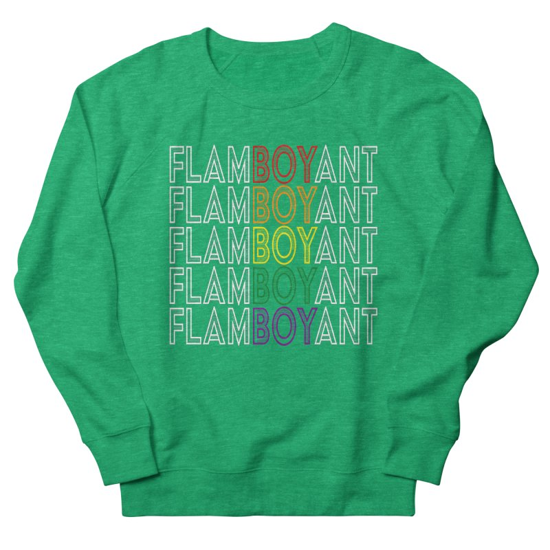 Flamboyant Men's French Terry Sweatshirt by Inappropriate Wares
