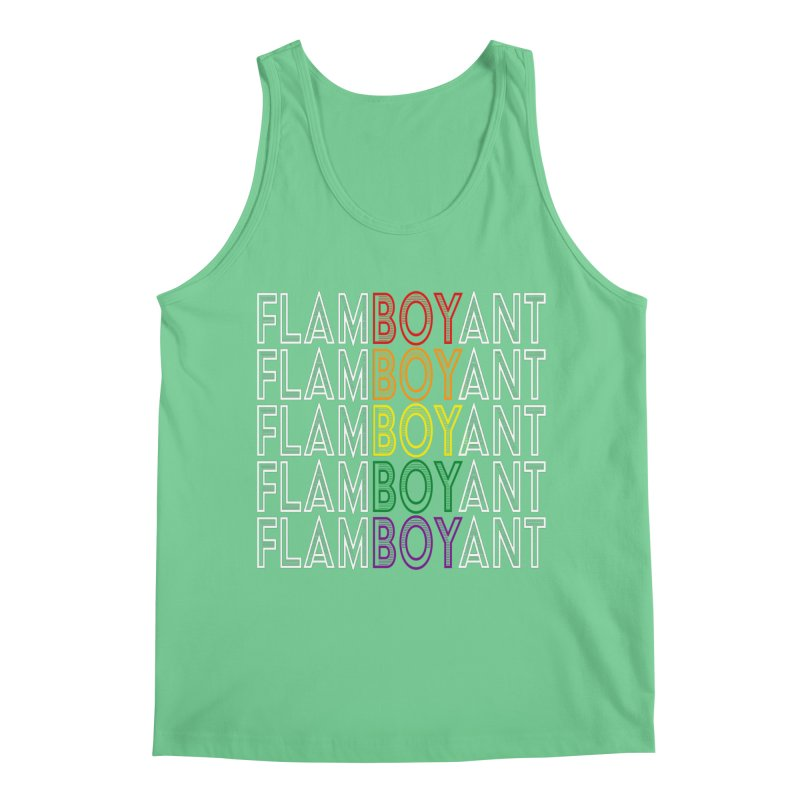 Flamboyant Men's Regular Tank by Inappropriate Wares
