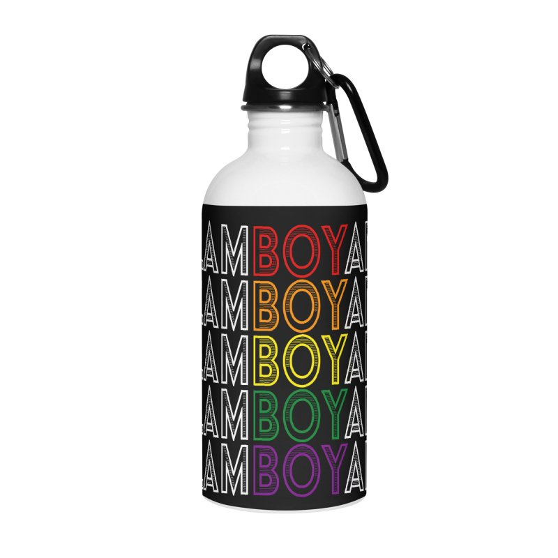 Flamboyant Accessories Water Bottle by Inappropriate Wares