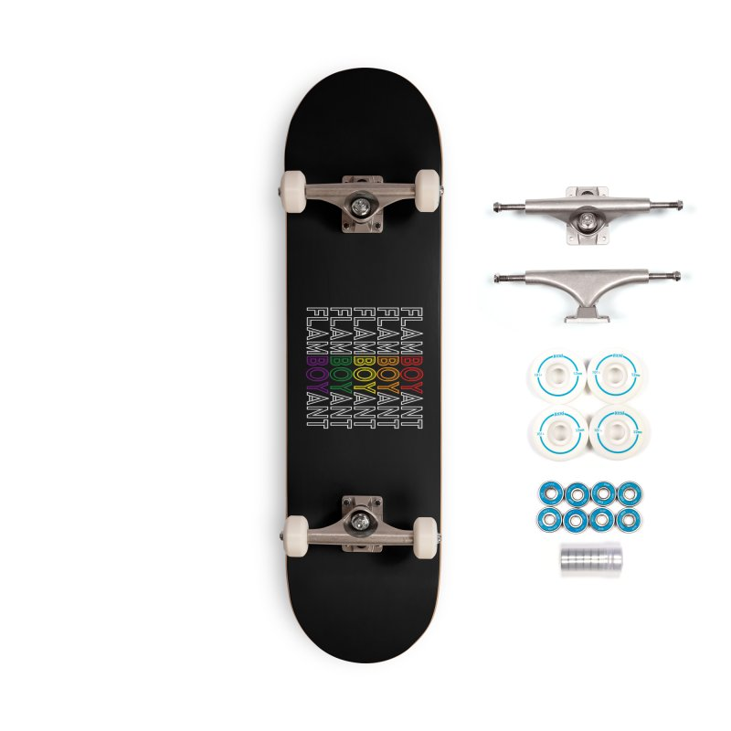 Flamboyant Accessories Complete - Basic Skateboard by Inappropriate Wares