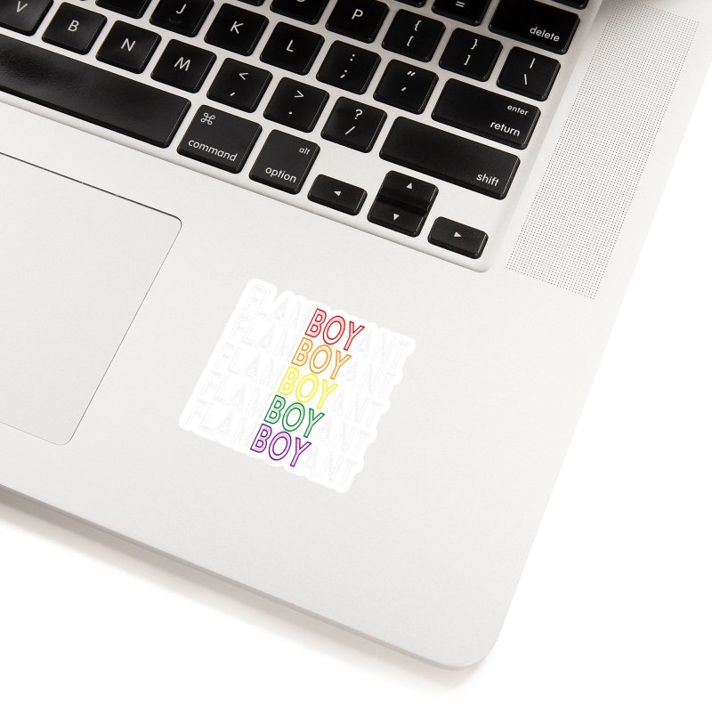 Flamboyant Accessories Sticker by Inappropriate Wares