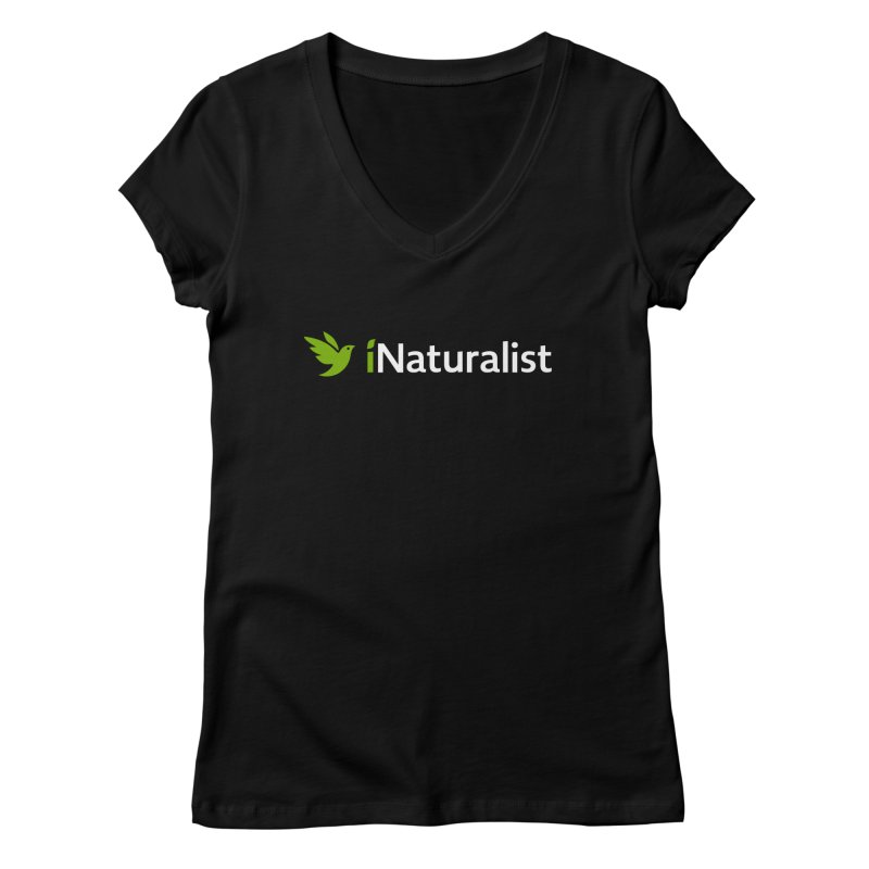 iNaturalist Logo Apparel Women's V-Neck by iNaturalist Store