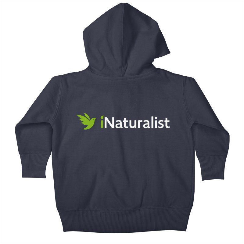 iNaturalist Logo Apparel Kids Baby Zip-Up Hoody by iNaturalist Store