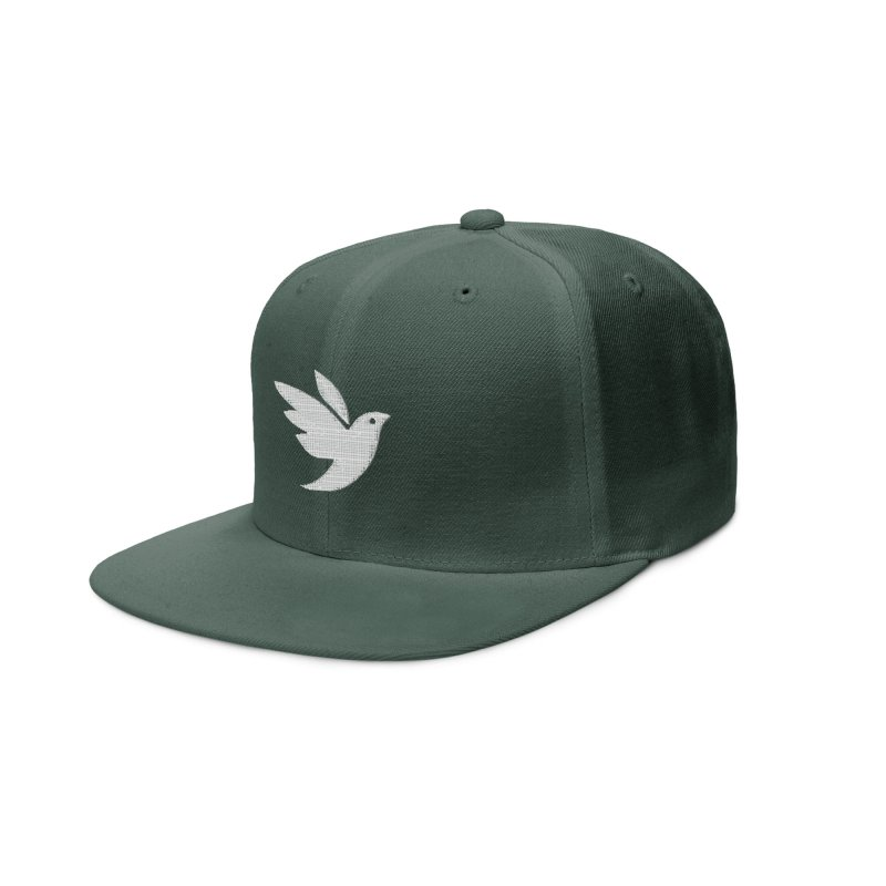 iNaturalist Bird in white Accessories Hat by iNaturalist Store