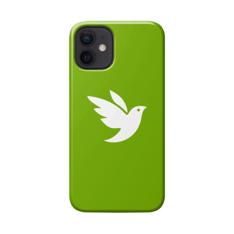 iNaturalist Bird in white Accessories Phone Case by iNaturalist Store