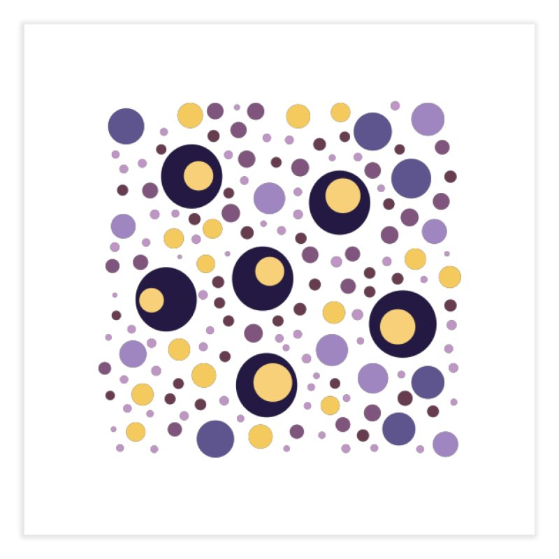 Circles Home Fine Art Print by inbalrubin's Shop