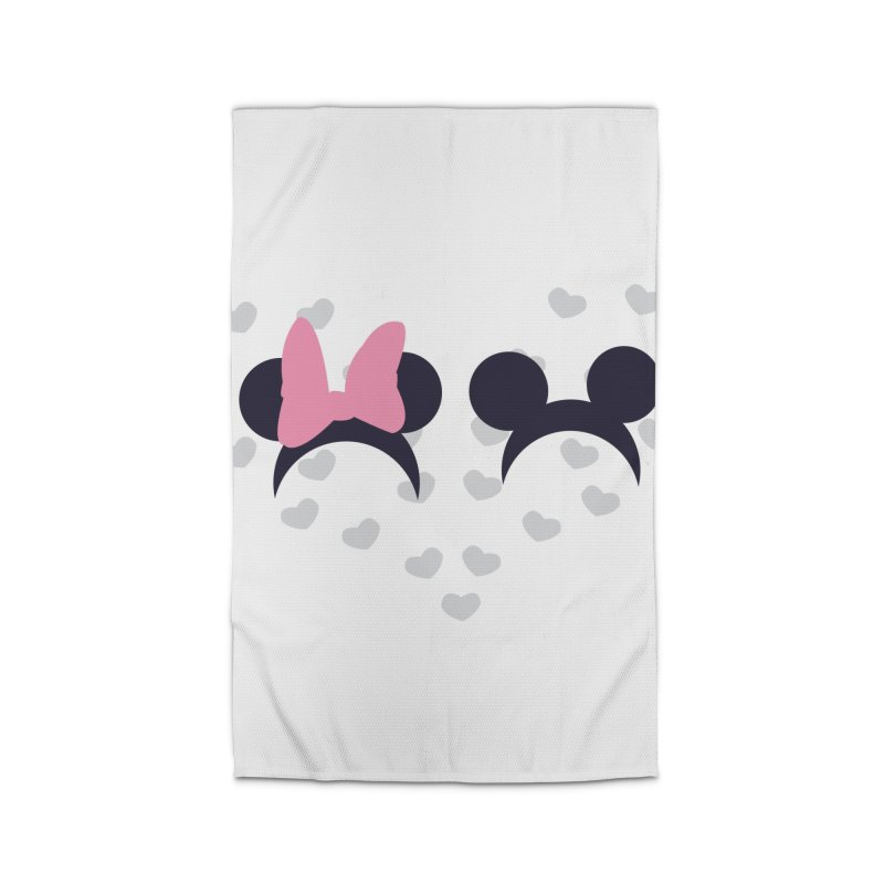 Mickey and Minnie Home Rug by inbalrubin's Shop