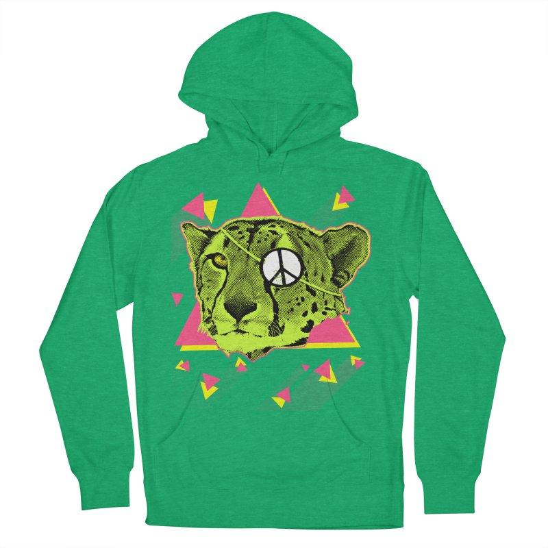 The Cheetah Neon Women's Pullover Hoody by inboxstreetwear's Shop