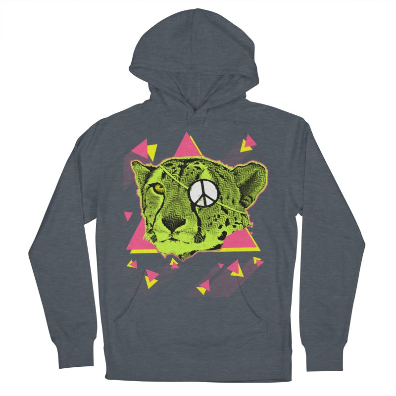 The Cheetah Neon Men's Pullover Hoody by inboxstreetwear's Shop