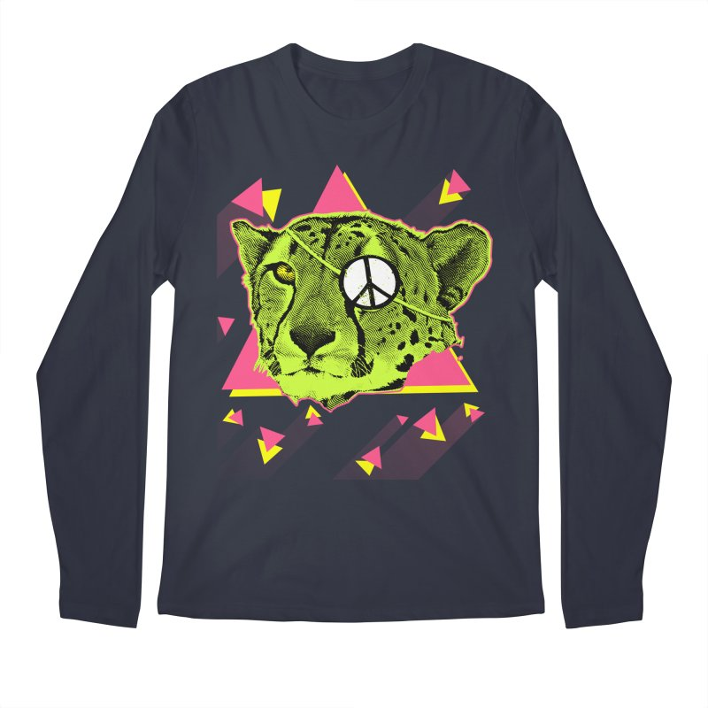 The Cheetah Neon Men's Longsleeve T-Shirt by inboxstreetwear's Shop
