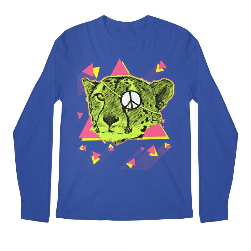 The Cheetah Neon Men's Longsleeve T-Shirt by inboxstreetwear's Shop