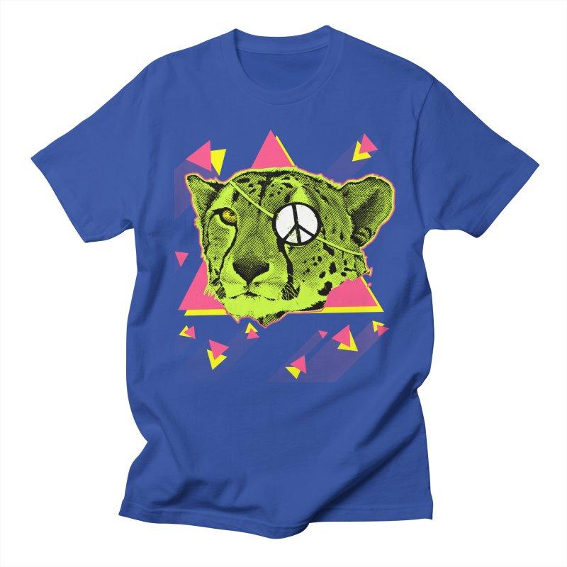 The Cheetah Neon Men's T-shirt by inboxstreetwear's Shop