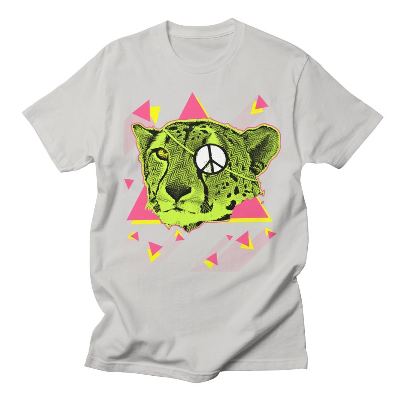 The Cheetah Neon Men's T-Shirt by inboxstreetwear's Shop