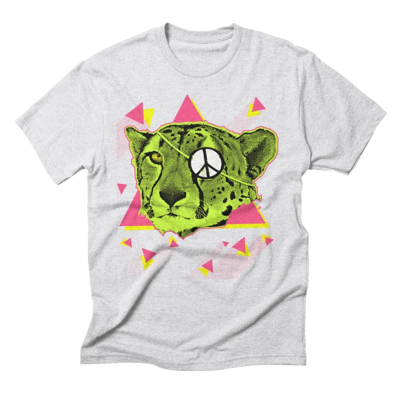 The Cheetah Neon Men's Triblend T-shirt by inboxstreetwear's Shop