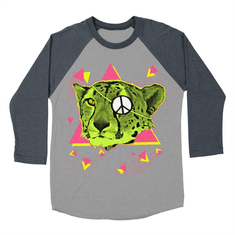 The Cheetah Neon Women's Baseball Triblend T-Shirt by inboxstreetwear's Shop