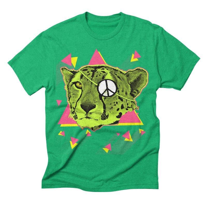 The Cheetah Neon Men's Triblend T-shirt by inboxstreetwear's Shop