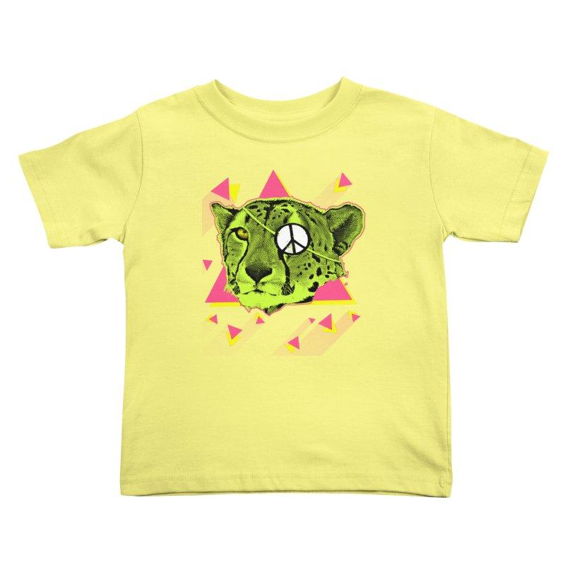 The Cheetah Neon Kids Toddler T-Shirt by inboxstreetwear's Shop