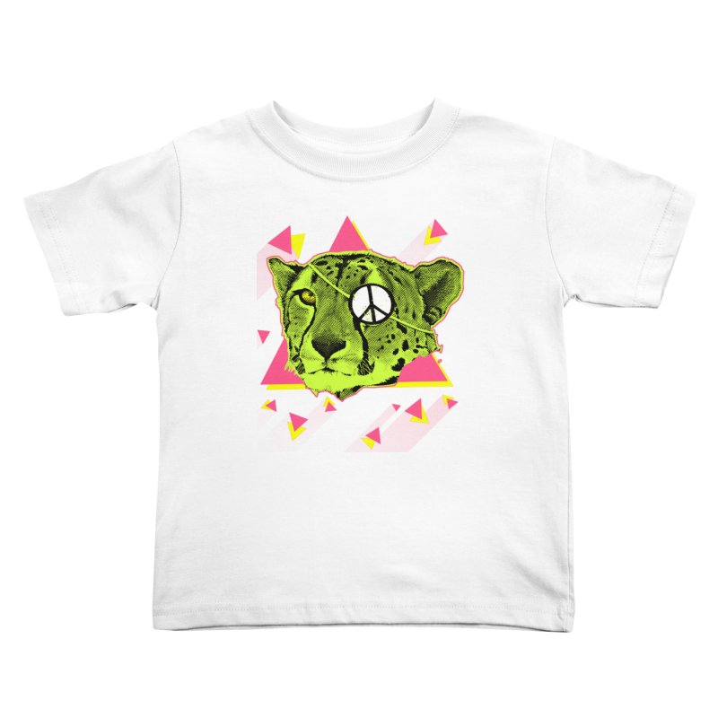 The Cheetah Neon Kids Toddler T-Shirt by inboxstreetwear's Shop