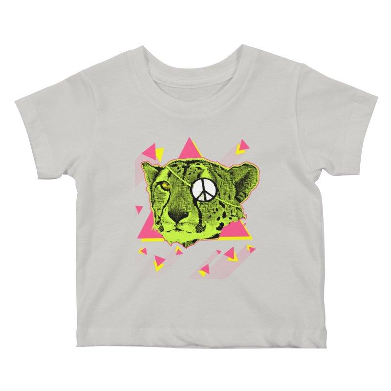 The Cheetah Neon Kids Baby T-Shirt by inboxstreetwear's Shop